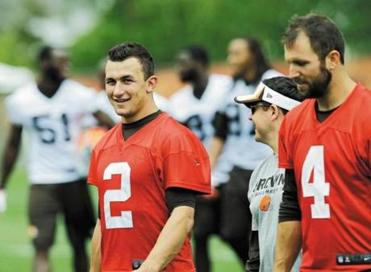 Johnny Manziel craves attention, which must concern the Browns.